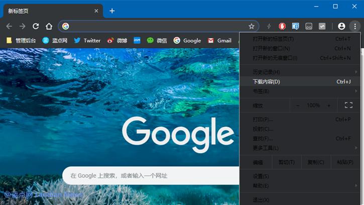 谷歌浏览器金丝雀版已经在测试原生黑色主题模式