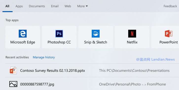 微软推送 Windows 10 19H1 Build 18329 快速测试版