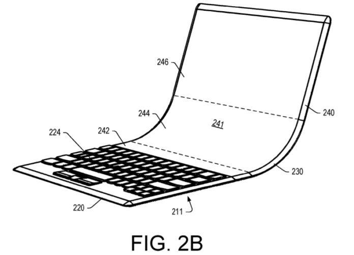 联想已经申请可折叠的Windows 10笔电设备带虚拟键盘