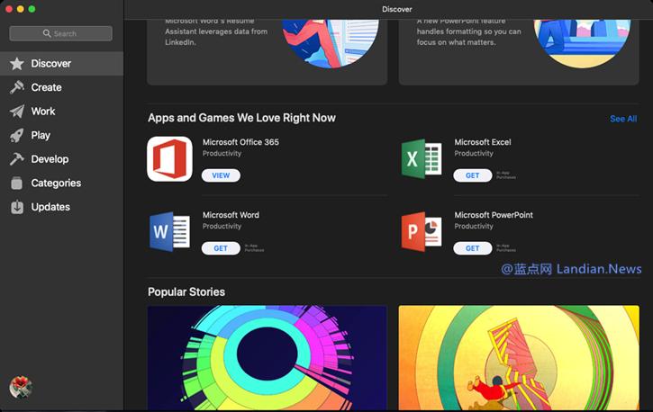 微软宣布Office 365上架Mac应用商店、却无法下载