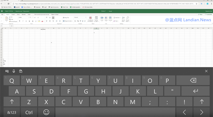 谷歌浏览器将可以更好的兼容Windows 10的虚拟触控键盘