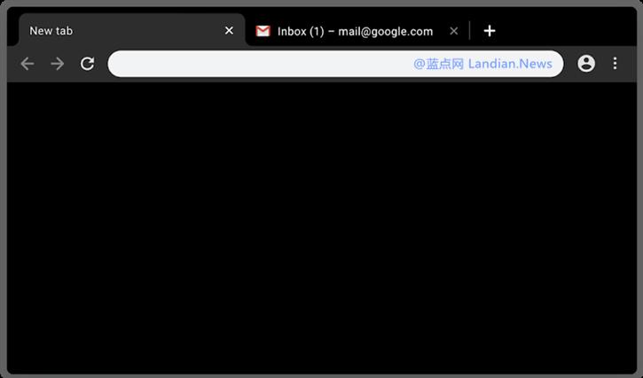 谷歌浏览器官方推出多种纯色系列背景主题(含黑色主题)
