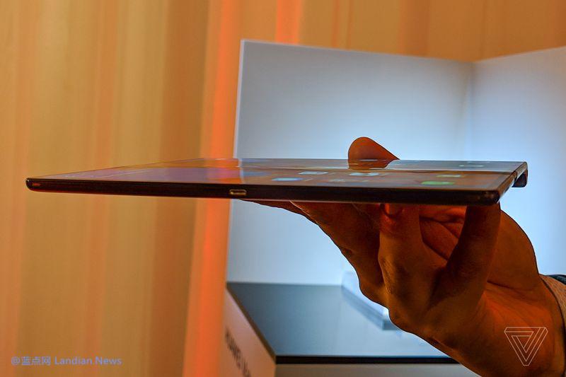 华为发布Mate X柔性屏可折叠设备 5G加持售价1.7万元