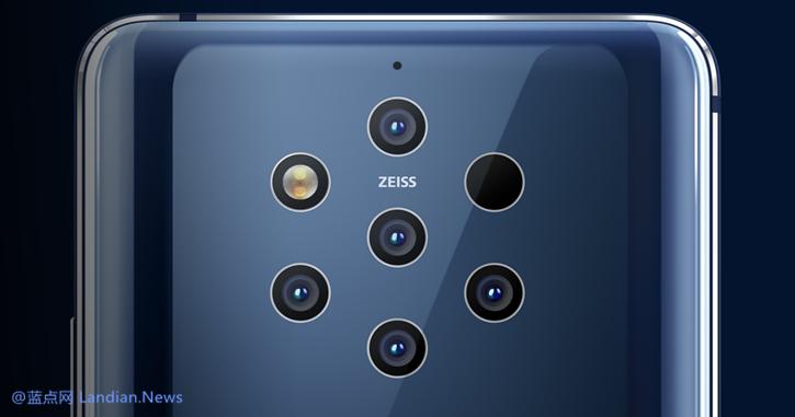 纯景品牌最终被成功复活 HMD推出五摄像头的诺基亚9