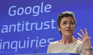 欧盟提款机谷歌又被罚款17亿美元 股价不但没跌甚至还涨了点