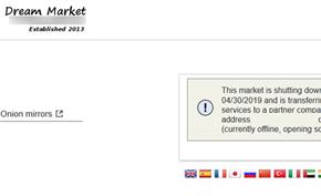FBI/DEA和欧洲刑警组织套路深:暗网黑市Dream Market宣布关闭