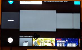 谷歌开始联合制造商在原生Android TV电视系统中植入各类广告