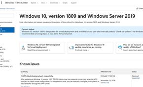 微软将重新设计Windows 10升级记录页面提供更多周边消息和BUG说明