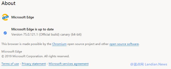 微软开始提供新版Microsoft Edge浏览器开发和金丝雀测试版的下载