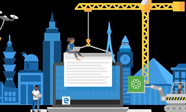 新版Microsoft Edge早期测试版的下载,支持在线安装和在线更新