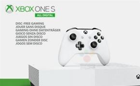 微软预计将在本月开始预售无光驱版本的Xbox One S All Digital版