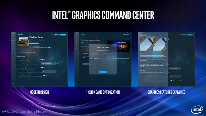 英特尔推出新增iGCC控制面板的v26.20.100.6709版显卡驱动程序