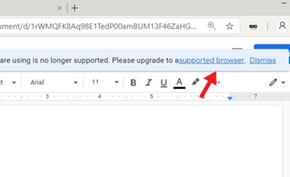 谷歌在线文档服务屏蔽Microsoft Edge 这次依然还是微软的锅
