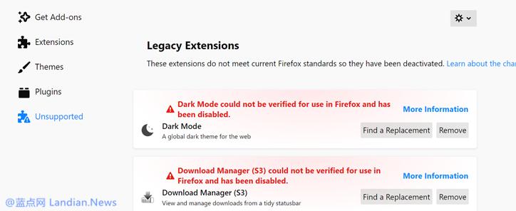 火狐浏览器推出v66.0.4紧急修复版解决扩展程序被禁用的问题-第1张