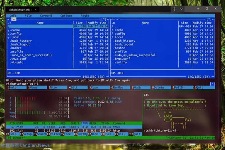 微软推出新款命令行工具Windows Terminal 预计下月与我们见面-第2张
