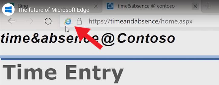 微软拿出杀手锏!Microsoft Edge将集成IE运行基于IE的旧程序或网站