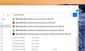 微软发布Windows 10 20H1最新测试版 资源管理器融合云上文件搜索