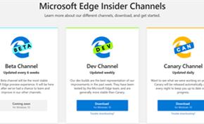 微软更新Microsoft Edge Dev测试版 这次带来大量改进和问题修复