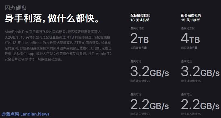 苹果宣布推出最高英特尔八核版i9的新款MacBook Pro售价13,899元起