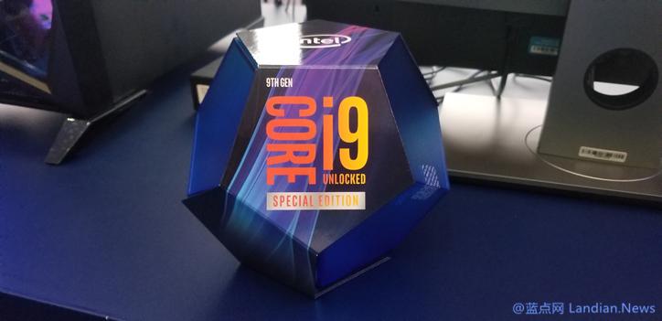 英特尔展示首款让8个核心都以5GHz运行的酷睿i9-9900KS游戏处理器