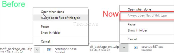 谷歌浏览器正在调查当下载文件为ZIP格式时无法自动打开的问题