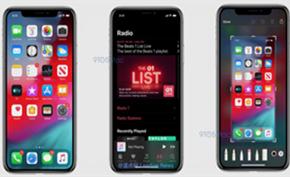 外媒获得iOS 13版截图确认新版本已增加黑色主题模式(夜间模式)