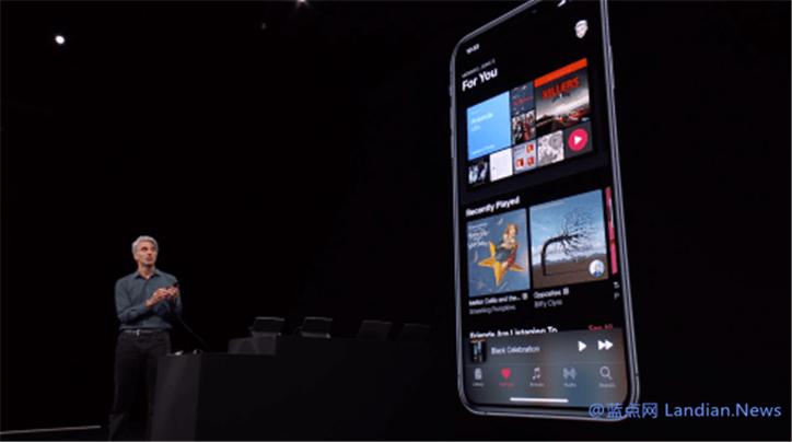苹果终于在iOS 13里增加夜间模式 同时降低应用程序体积和提高性能
