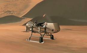 NASA计划在2026年向泰坦(土卫六)发射名为蜻蜓的新型机器人着落器