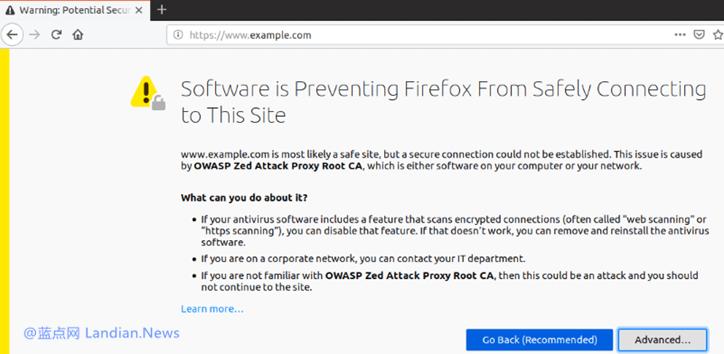 火狐浏览器将推出新方案彻底解决HTTPS连接与反病毒软件兼容问题-第1张