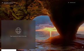 微软在Windows 10锁屏界面添加网络搜索框可快捷搜索任意内容