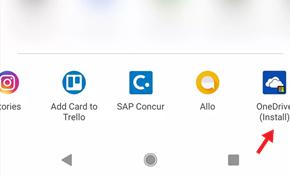 微软利用安卓系统级的共享菜单推广自家应用程序(打广告)引起非议
