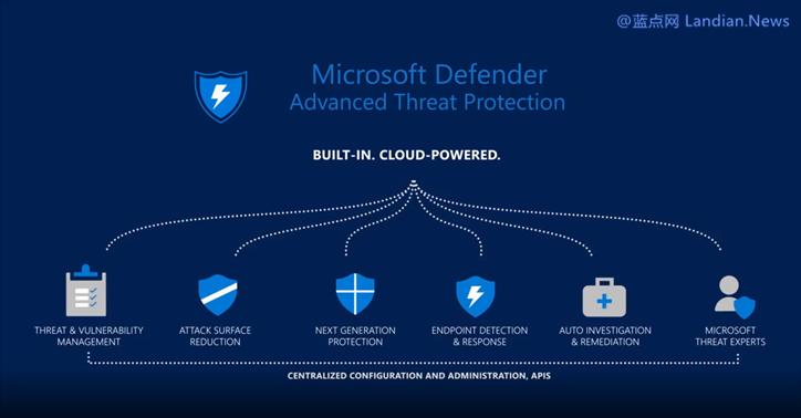 微软的Microsoft Defender ATP杀毒软件将在晚些时候推出iOS和安卓版