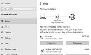 Windows 10 20H1 Build 18956快速版发布 重新设计网络状态页面