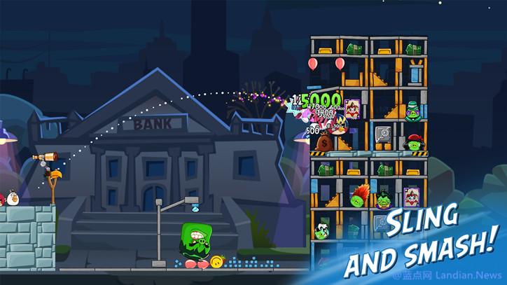 知名游戏愤怒的小鸟登录Windows 10平台 可在商店中免费下载畅玩