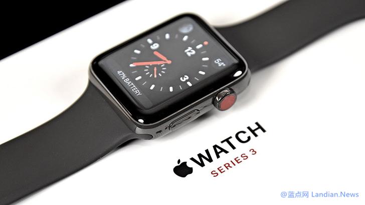 如果你的第2/3代苹果智能手表Apple Watch屏幕开裂则可以免费维修