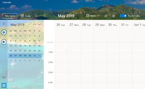微软正在重新开发UWP版日历应用程序 功能和模块布局方面均有调整