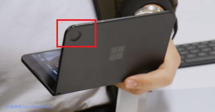 微软最终推出搭载安卓系统的Surface Duo 不走寻常路的不关注拍照