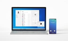 下载注册8推出Windows 10 20H1新测试版支持在PC上连接安卓设备接打电话