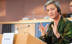 欧盟反垄断机构负责人玛格丽特表示强制拆分科技巨头是最后的选择