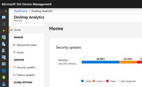 微软为企业用户推出全新的桌面分析工具 管理员可批量管理内网设备