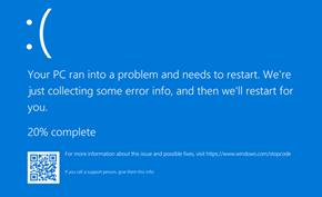 #BUG10日常# 微软本月发布的月度例行更新引起相当多的设备蓝屏