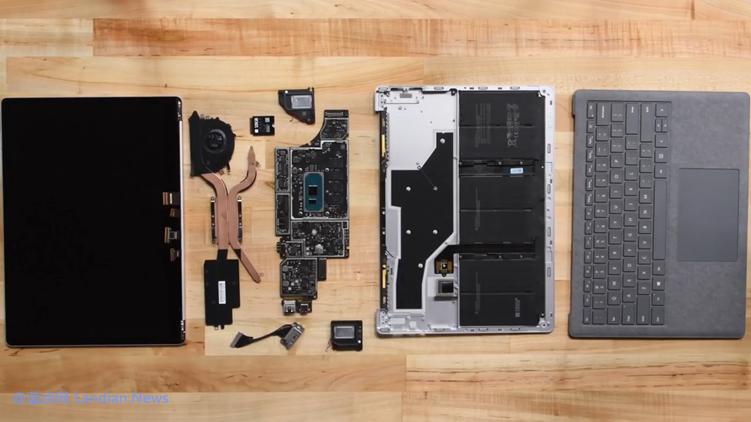[视频] Surface Laptop 3非常容易拆解/更换硬件但用户绝对不能自己拆机