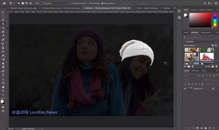 [视频] Photoshop AI 对象选择工具让选取图片特定内容更加轻松