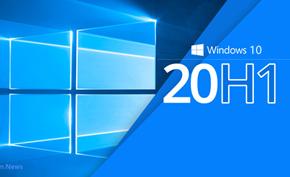 微软推出Windows 10 20H1 Preview Build 19030删除右下角测试版水印