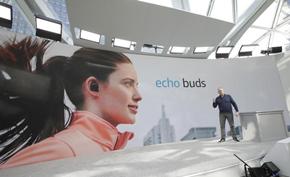 亚马逊准备在Amazon Echo Buds无线蓝牙耳塞中添加健身追踪功能