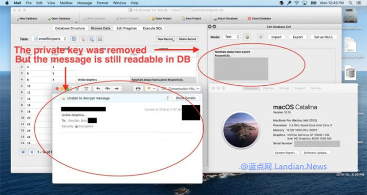 漏洞被发现几个月后,苹果修复了macOS Mail加密邮件文本可读的漏洞