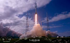 马斯克的星链公司双11当天再次成功发射60颗互联网卫星至350公里轨道
