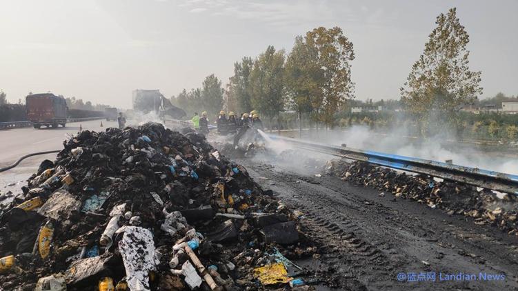 百世快递就快递车着火事件发布声明 损毁7000件商品已联系卖家补发