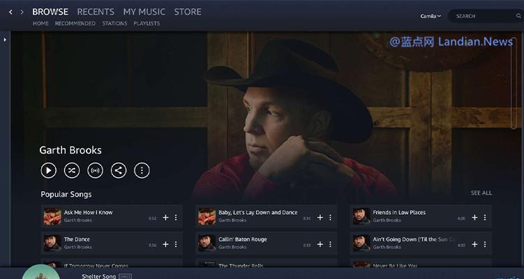亚马逊宣布为美国、英国和德国的用户提供免费的在线音乐服务 不过有广告