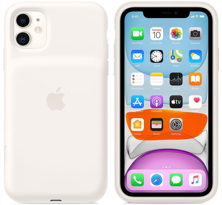 苹果推出iPhone 11系列智能电池壳 支持Qi无线充电和PD快充可延长50%续航